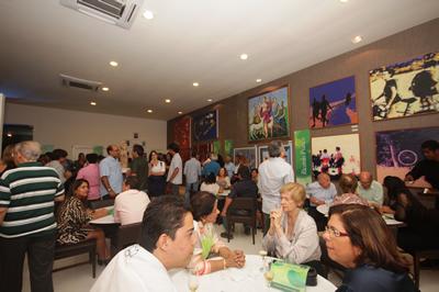 """exposição """"Viver com Arte"""" (Foto: Clodoaldo Ribeiro)"""
