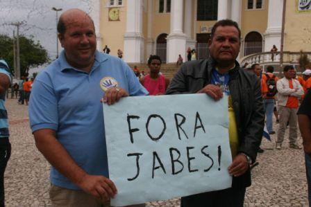 Robertinho Scarpita e Marinho Santos. Imagem retirada do site ilheusnoticias.net.