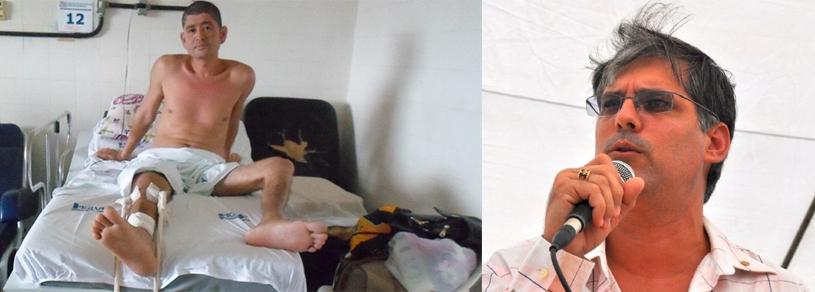 Fabio está internado há 50 dias no Hospital Regional e não quer voltar para Canavieiras.