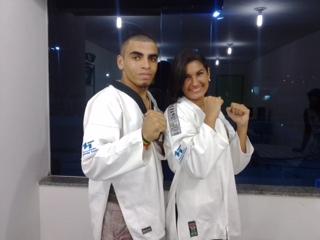 A Faculdade Madre Thaís apoia os estudantes/atletas Felipe Gabriel e Danielle de Jesus.