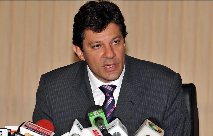 Fernando Haddad. Foto: www.cartapolis.com.