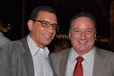 Jabes Ribeiro e o deputado estadual Ronaldo Carletto (PP).