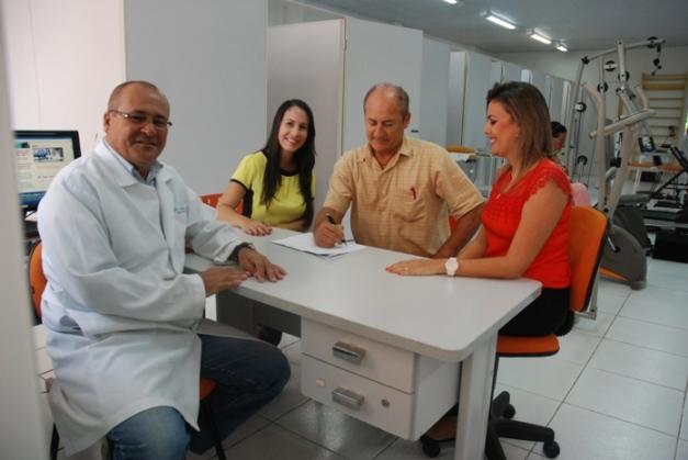 Ismar Landi,  Larissa Silveira, Isidoro Lavigne e Karla Gresik.