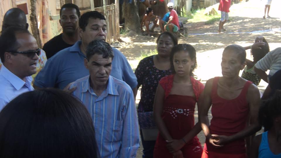 Ivo falou aos moradores sobre a construção do Loteamento Bosque Verde.