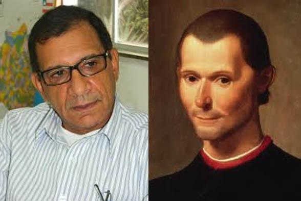 """Vitorioso, Jabes delicia o capítulo XVII de """"O Príncipe"""" de Maquiavel."""