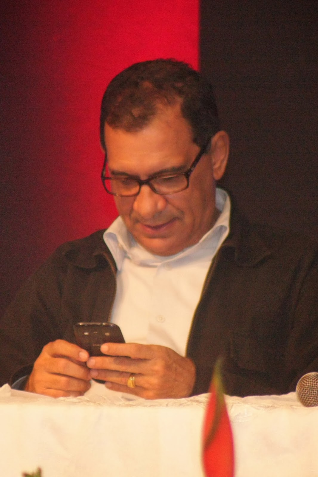 Prefeito Jabes Ribeiro. Foto: José Nazal/Blog Catucadas.