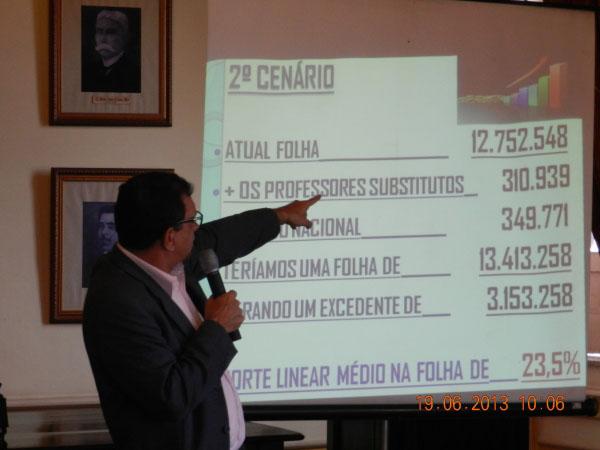 Jabes: apresentação com erros primários. Imagem: Correia Neles.
