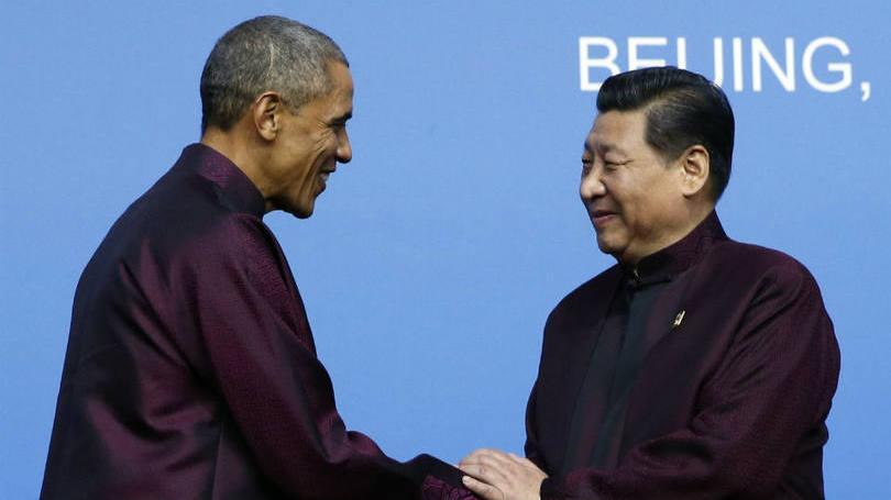 Obama e Jinping.