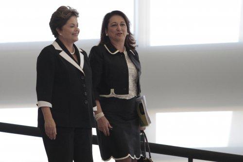 Presidente Dilma Rousseff e Senadora Kátia Abreu.
