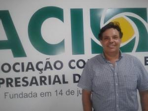 Luiz Ribeiro, novo presidente da ACI.