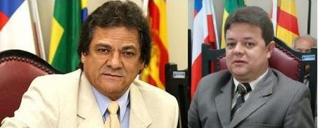 Newton Lima e Valmir Freitas.