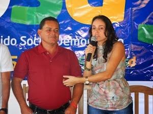 Nildo e Diane. Foto: Blog GCM Pereira Una.