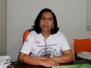 Norma Guimarães, presidente do Simpi.