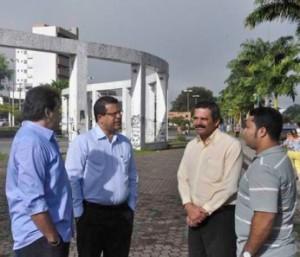 Visita à Praça Rio Cachoeira