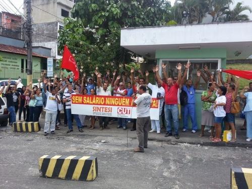 Trabalhadores iniciarão greve na próxima quarta-feira 16. Apenas o pagamento do salário atrasado pode evitar a paralisação.