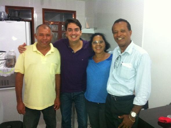 O deputado Pedro Tavares participou de reuniões com lideranças do PMDB, em Ilhéus e Itabuna, no último final de semana.
