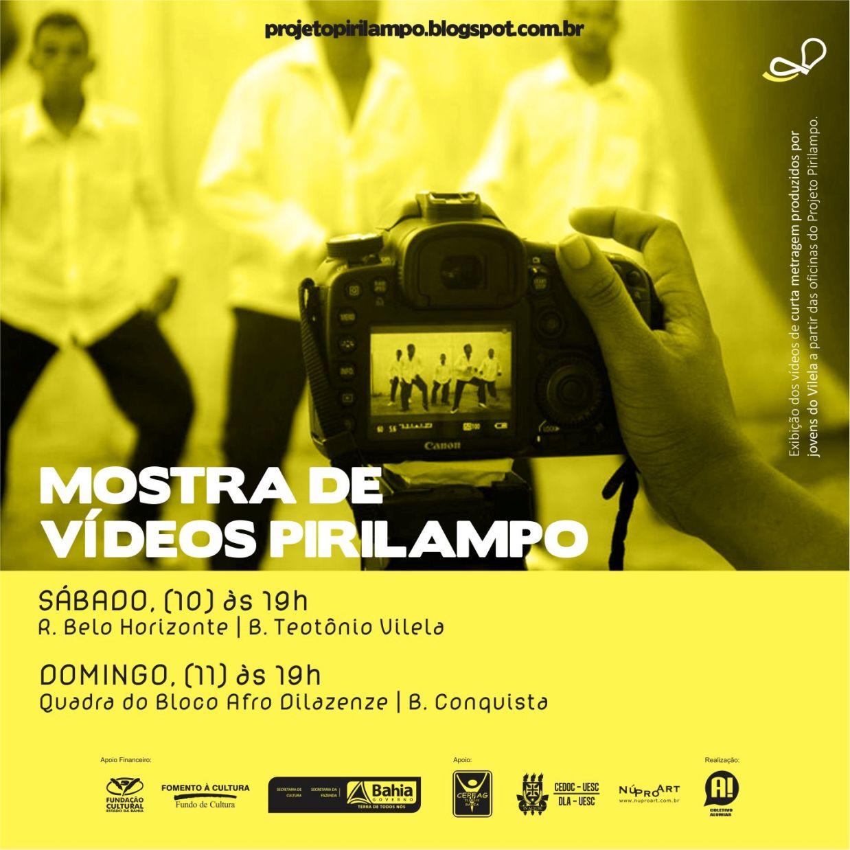Filmes serão apresentados no Vilela e na Conquista.