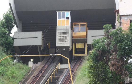 """""""Plano Inclinado"""" em Salvador. Foto: iBahia."""