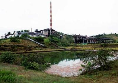 Terreno contaminado pela mineração em Santo Amaro. Foto: Leopoldo Silva.