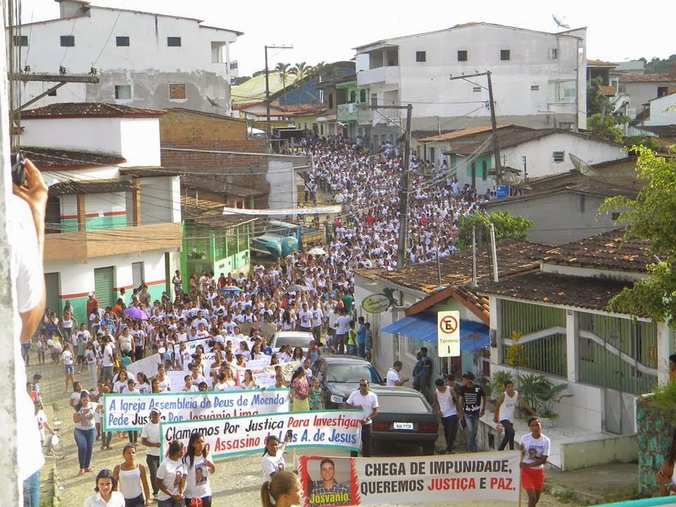 Caminhada da paz em Tancredo Neves (foto: PTN News).