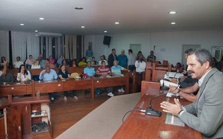 Prefeito de Itabuna, Claudevane Leite, empossa Conselho Municipal da Saúde - Foto Pedro Augusto