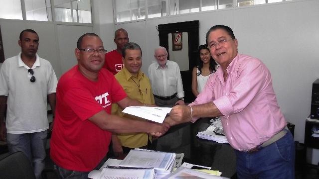 Sintesi e Prefeitura entram em acordo nesta quinta-feira. Foto: Walmir Rosário.