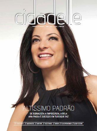 Ana Paula Padrão é capa da Revista Cidadelle 2.
