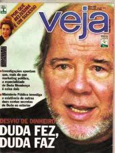 Revista Veja Duda fez, Duda faz