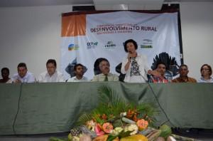 Secretária ressaltou importância de promover igualdede de gênero no campo