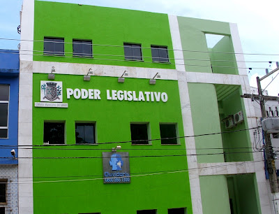 Sede da Câmara. Foto: Políticos do Sul da Bahia.