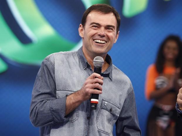 Tino Marcos. Foto: TV Globo/Domingão do Faustão.