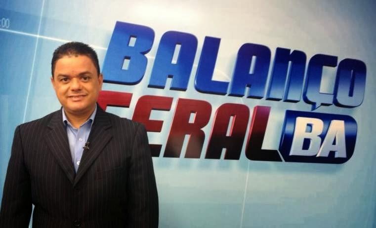 Tom Ribeiro, apresentador do Balanço Geral.