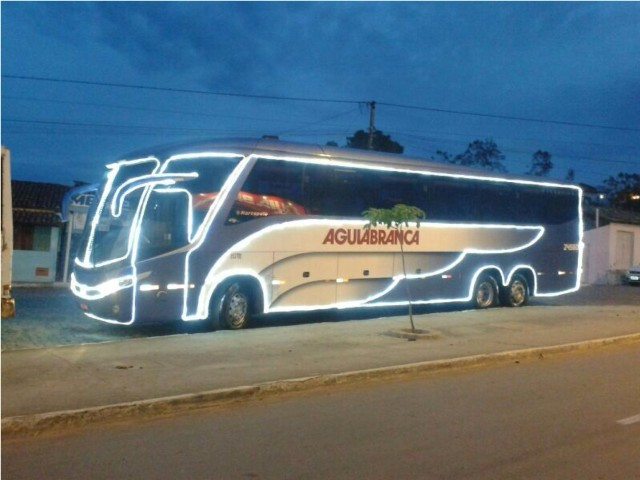 Ônibus iluminado vai percorrer as ruas de Itabuna nessa quinta-feira (19).