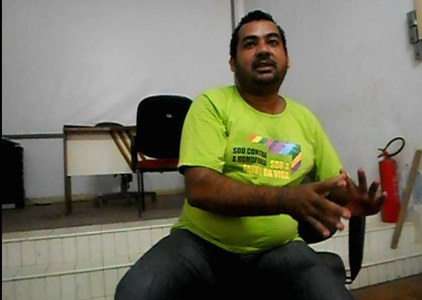 Valério Bonfim, presidente do Conselho de Transportes de Ilhéus. Imagem: Thiago Dias/Blog do Gusmão.