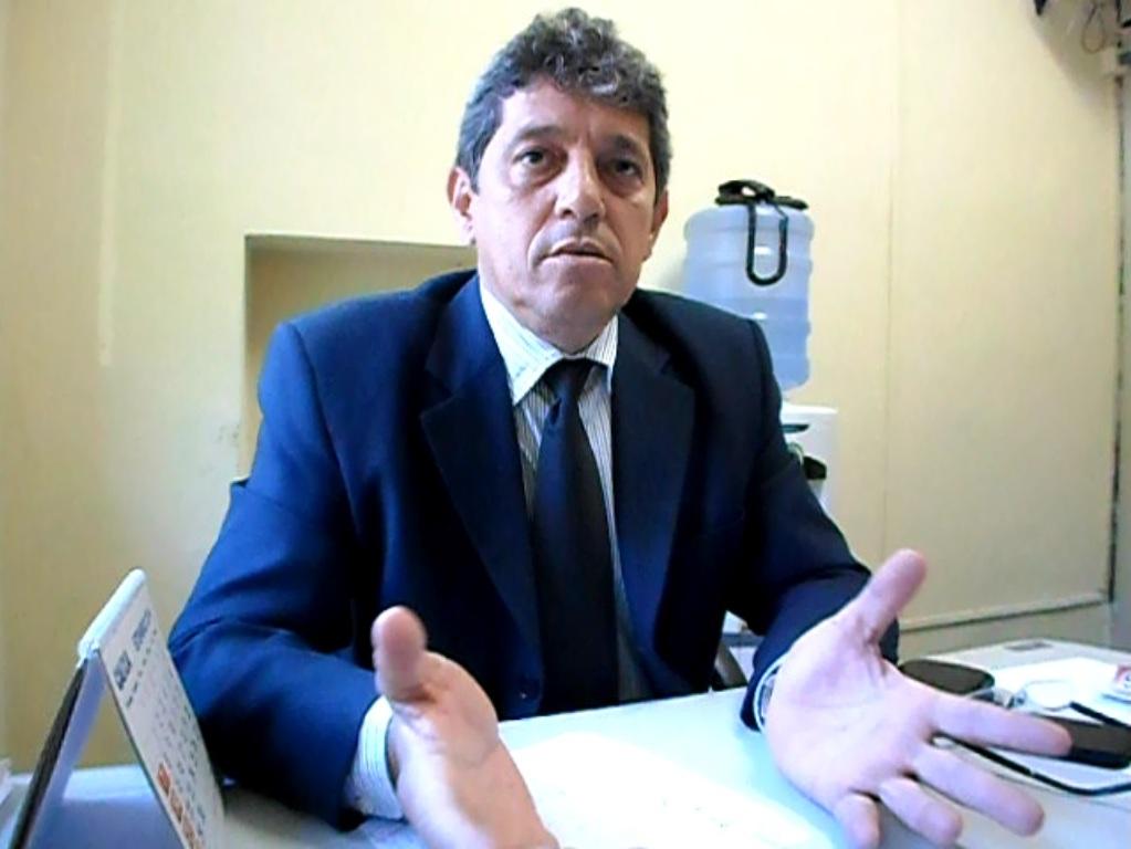 Vereador Alisson Mendonça. Imagem: Blog do Gusmão/Thiago Dias.
