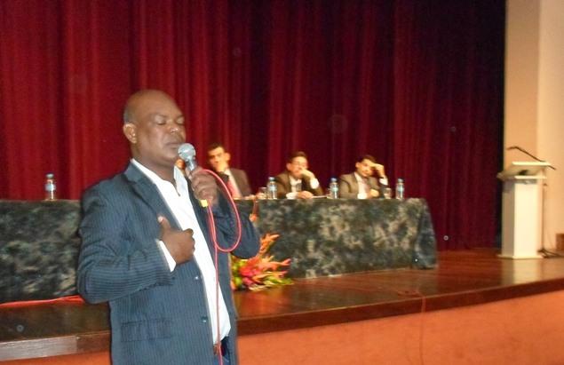 Vereador Josevaldo Machado. Foto: Thiago Dias /Blog do Gusmão.