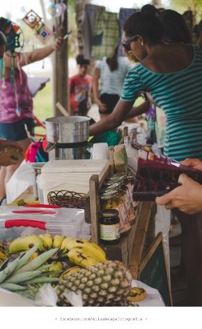 A presença da culinária regional é uma marca da Feira de Olivença.