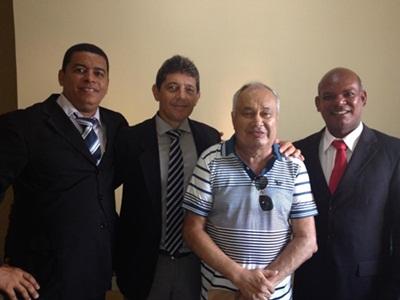 Magal, Alisson, Abobreira e Dr. Jó.