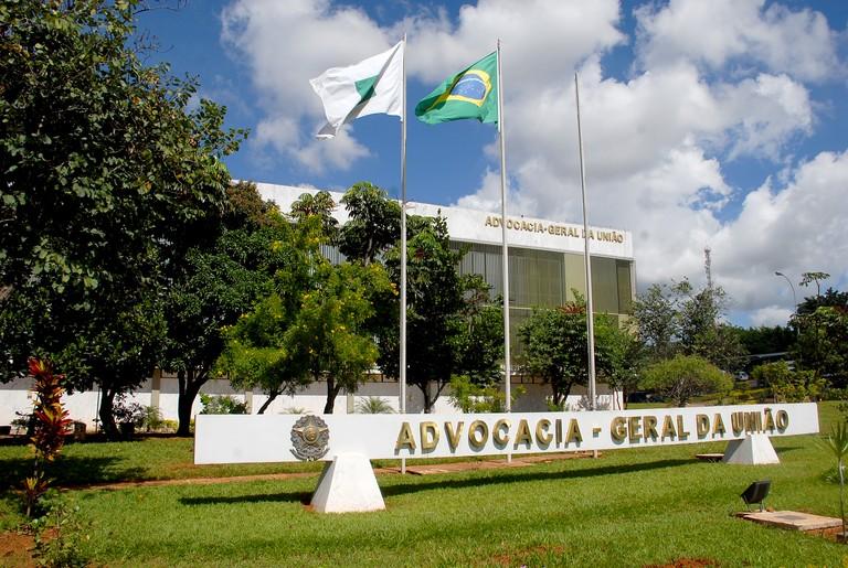 Sede da Advocacia-Geral da União, em Brasília.