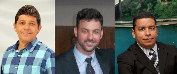 Alisson Mendonça, Lukas Paiva e Fabio Magal.