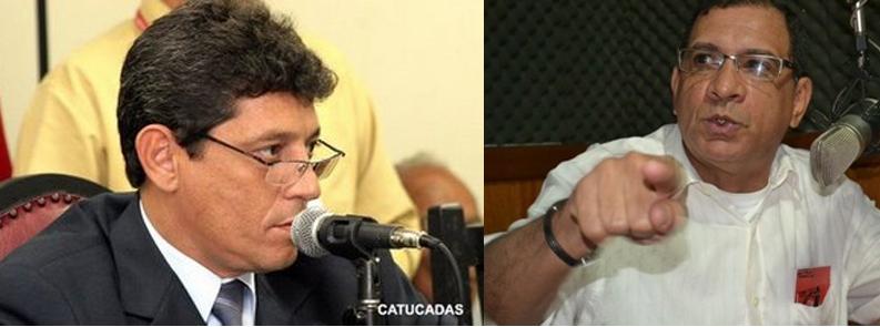 Alisson e Jabes. Imagens: Blog Catucadas e O Tabuleiro.