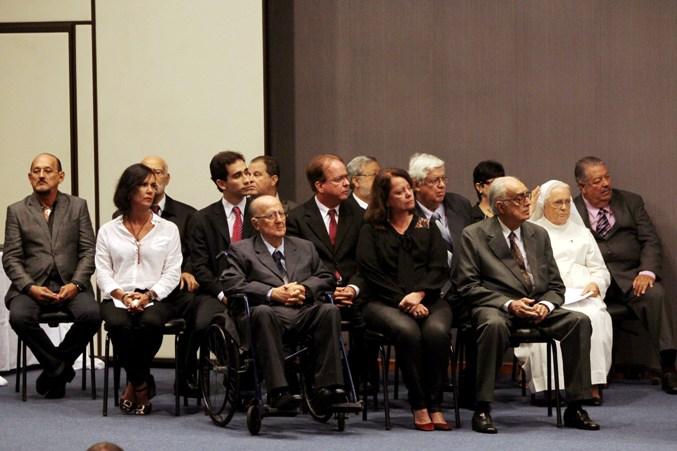 Deputados estaduais cassados pela ditadura civil-militar e familiares. Foto: Manu Dias.